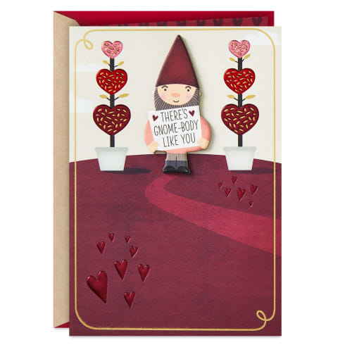 Gnome-Body Like You Valentine's Day Card