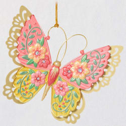 Brilliant Butterflies Ornament 2021
