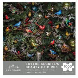 Beauty of Birds Hallmark Keepsake Ornaments 1,000-Piece Puzzle