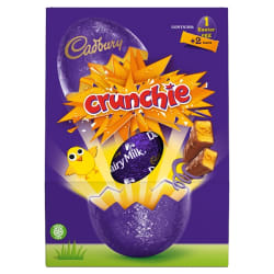 Cadbury Crunchie Large Easter Egg 233 g