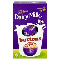 Cadbury Buttons Easter Egg 128g