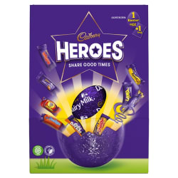 Cadbury Heroes Large Easter Egg 236g