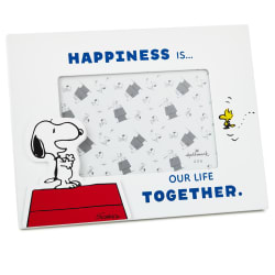Peanuts® Snoopy and Woodstock Happiness Picture Frame, 4x6