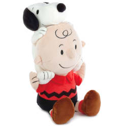 Peanuts® Charlie Brown and Snoopy Together Stuffed Animal, 9