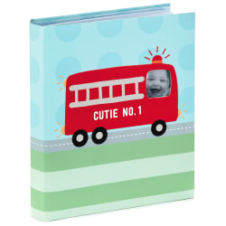 Fire Truck 5-Year Baby Book