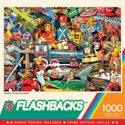 Flashbacks Toyland Green 1000 Piece Puzzle