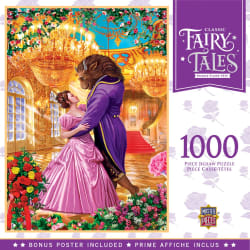 Classic Fairy Tales Beauty & Beast 1000-Piece Puzzle