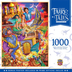 Classic Fairy Tales Aladdin 1000-Piece Puzzle