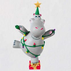 I Want a Hippopotamus for Christmas Musical Ornament 2021