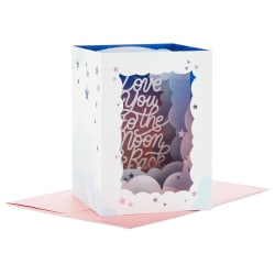 Love You to the Moon and Back 3D Pop-Up Mother's Day Card