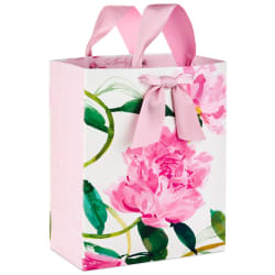 Pink Peonies Large Gift Bag, 13