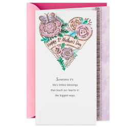 Life's Littlest Blessings First Mother's Day Card