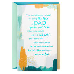 You Give Your Best Mother's Day Card for Dad