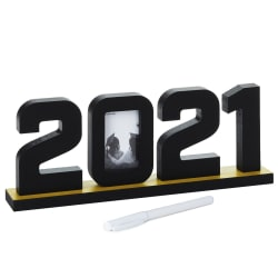 2021 Cutout Graduation Signatures Sign With Picture Frame