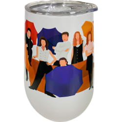 Spoontiques - Friends 14oz Stainless Steel Tumbler