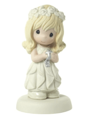 May His Light Shine In Your Heart Today And Always Girl Figurine