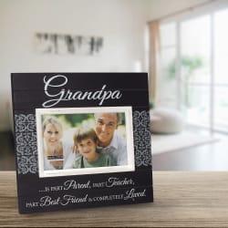 Malden Grandpa Sunwashed Wood Frame 4x6