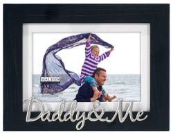 Malden Daddy & Me Frame with Mat 4x6/5x7