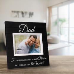 Malden Dad Sunwashed Wood Frame 4x6