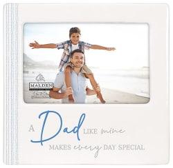 Malden Dad Ceramic Frame 4x6