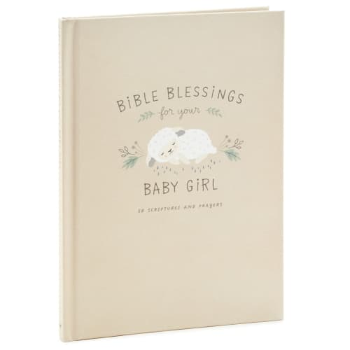 Bible Blessings for Your Baby Girl Book