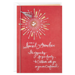 A Joyous Day Religious Confirmation Card for Grandson