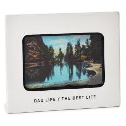 Dad Life Ceramic Picture Frame, 4x6