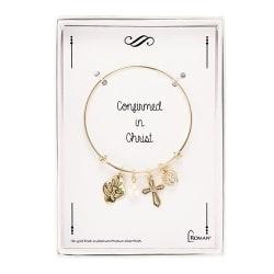 Roman Gold Confirmation Bracelet