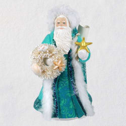 White Father Christmas Ornament