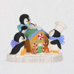 Baking Buddies Penguins Ornament