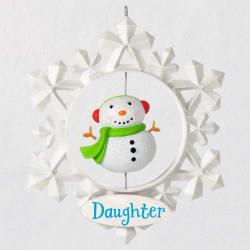 Daughter Snowflake Ornament
