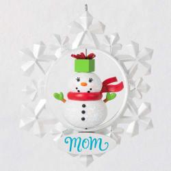 Mom Snowflake Ornament