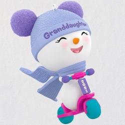 Granddaughter Snowman 2021 Ornament