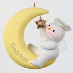 Godchild Snow Angel 2021 Ornament