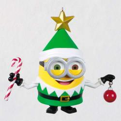 Despicable Me Minion Elf Musical Ornament