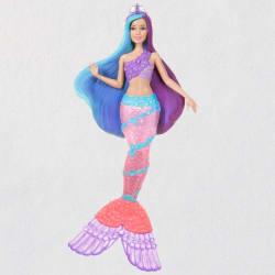 Mermaid Barbie™ Ornament With Light