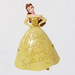Disney Beauty and the Beast Book Lover Belle Ornament