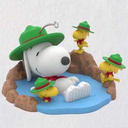The Peanuts® Gang Taking a Dip Ornament