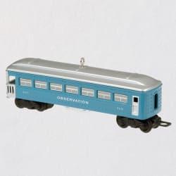 Lionel® 2431 Observation Car Metal Ornament