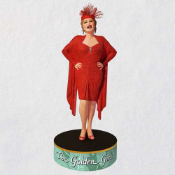 The Golden Girls Blanche Devereaux Ornament With Sound