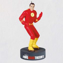 The Big Bang Theory™ Sheldon Cooper™ as The Flash™ Ornament