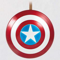 Marvel Captain America's Shield Metal Ornament