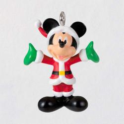 Mini Disney Mickey Mouse Merry Lil' Mickey Ornament, 0.8