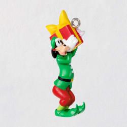 Mini Disney Merry Lil' Goofy Ornament, 1.3