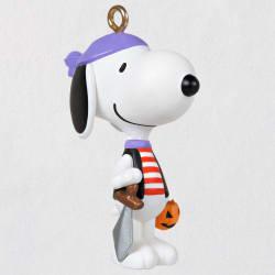 Mini Peanuts® Pirate Snoopy Halloween Ornament, 1
