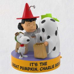 Peanuts® I Got a Rock Charlie Brown Halloween Ornament W/ Sound