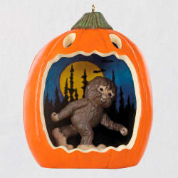 Happy Halloween! Bigfoot Ornament