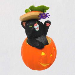 Mischievous Kittens Black Cat Antics Special Edition Ornament