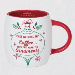 Hallmark Keepsake Hang the Ornaments Mug, 16.5 oz.