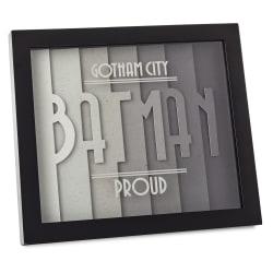 DC Comics™ Batman™ Gotham City™ Proud Layered Framed Art